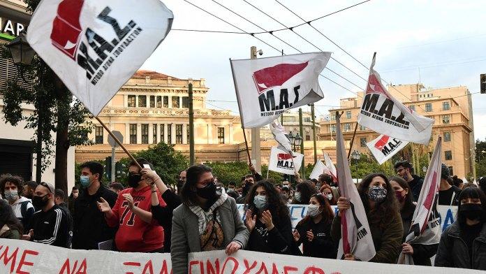 Studierendenproteste in Griechenland