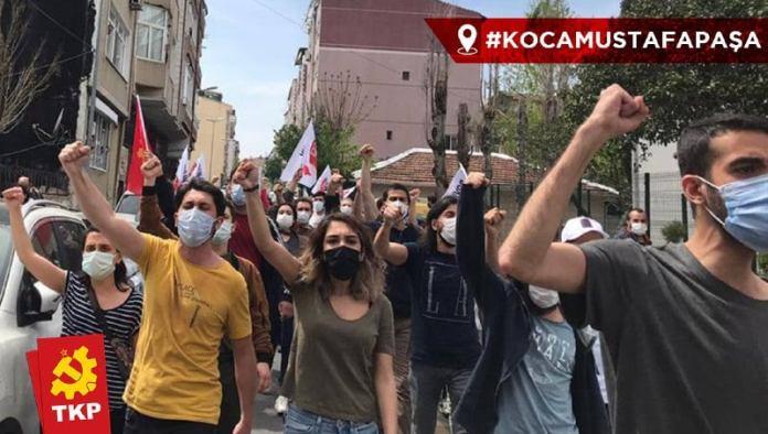 Türkei: TKP nahm sich die Straße am 1.Mai