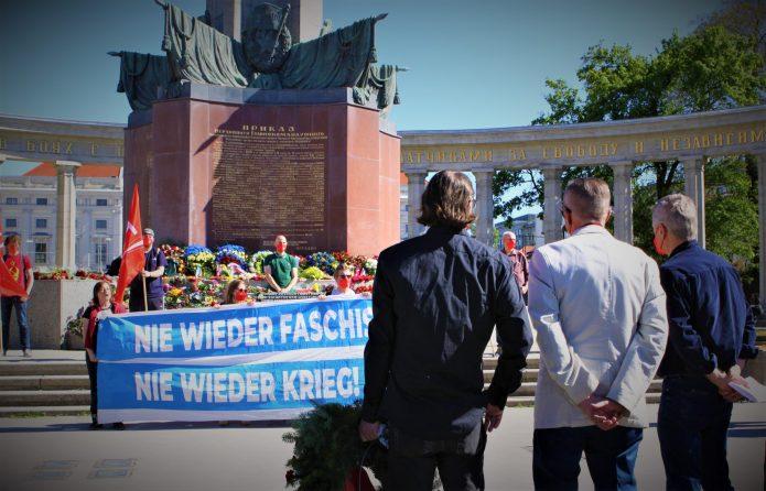 Erinnerung an den antifaschistischen Sieg der Völker inWien
