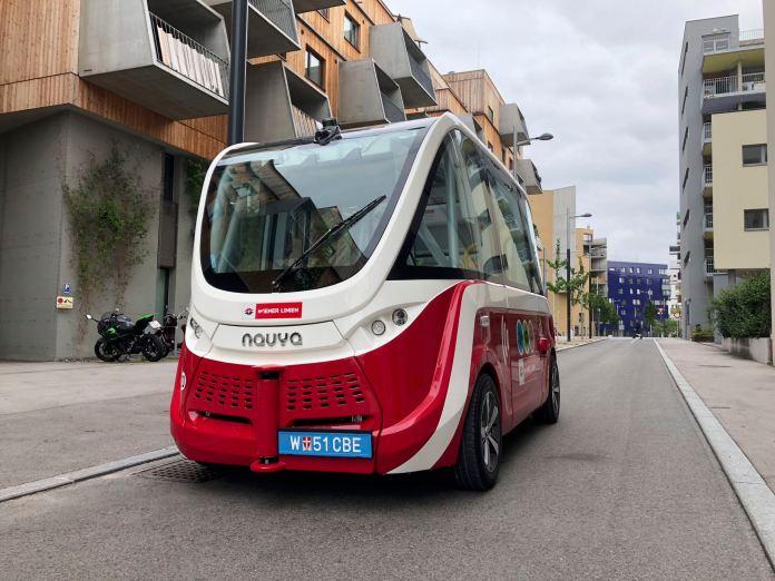 Autonome E‑Busse in Wien: Außer Spesen nichts gewesen
