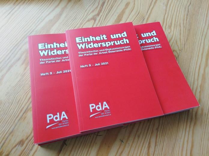 """Heft 9der """"Einheit und Widerspruch"""" veröffentlicht"""