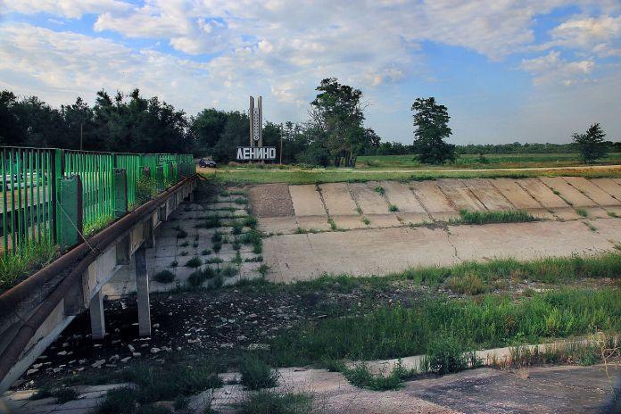 Ukraine blockiert Wasser für dieKrim