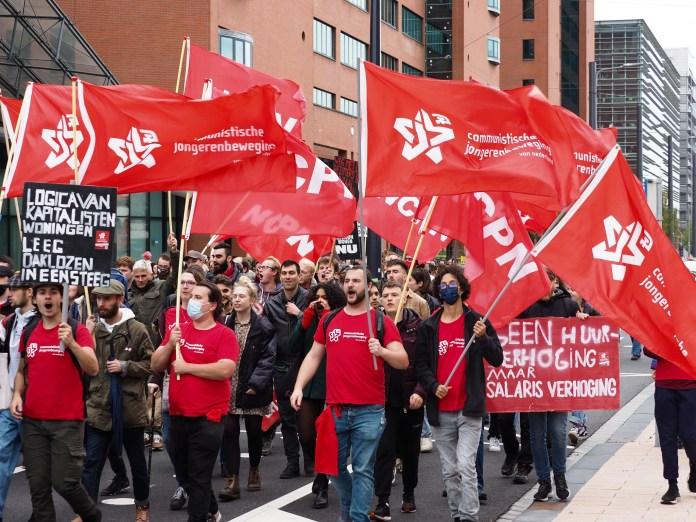 Niederländische Kommunisten verurteilen Polizeigewalt gegen Wohnprotest