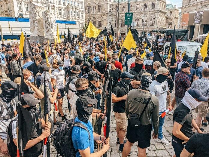 OÖ: Rechtsextreme Identitäre versuchen weiter einzuschüchtern