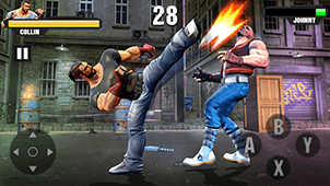 Road Fighting Game