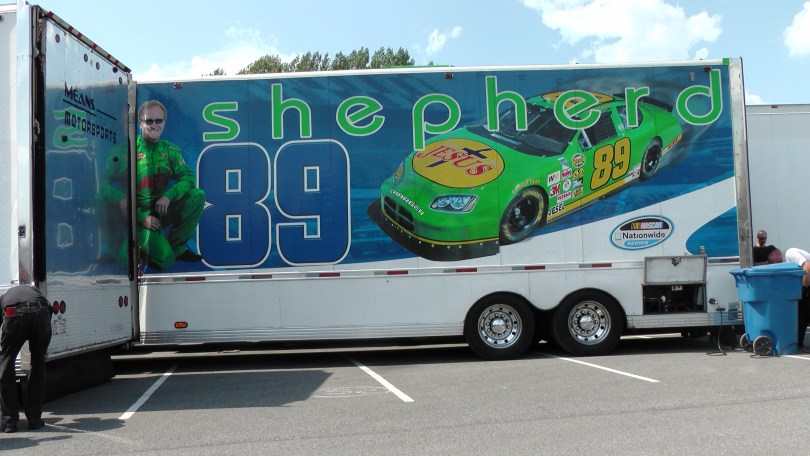 Racing for at The Napa Auto Parts 200 presented by Dodge