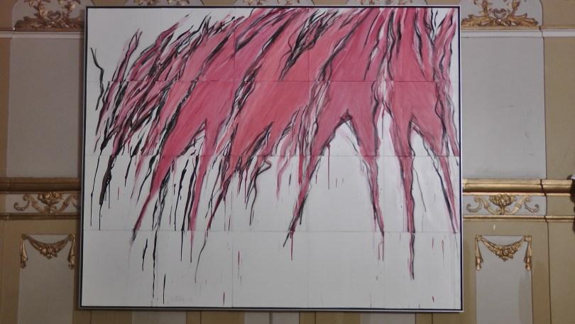 "Tarozita By Jacques Hurtubise. Oil on Canvas, 1977 64"" x 80"""
