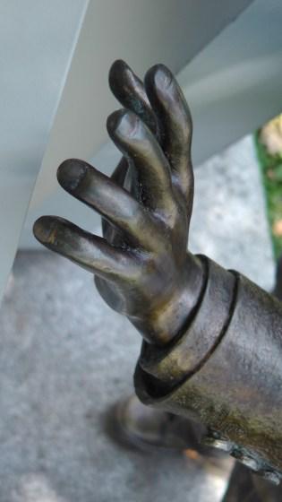 Detail of Veritas by Laura Santini