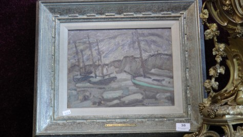 Oil painting on panel by A.Y. Jackson