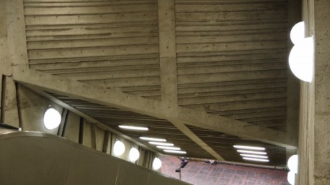 Inside metro de la Savane