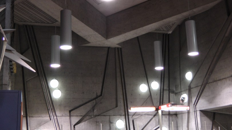 Inside the metro de la Savane