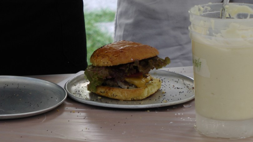 Cheeseburger from Nouveau Palais.