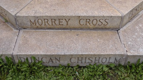 Morrey Cross and Duncan Chisholm