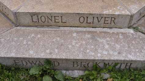 Lionel Oliver and Edward Beckwith
