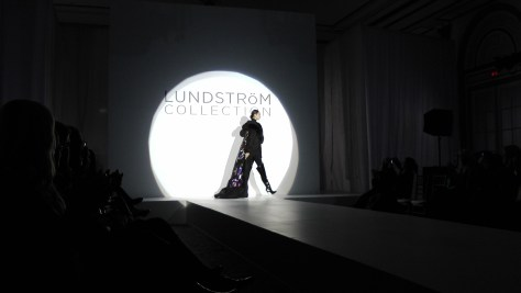 Glitter La Parka in Black from the Lundström Fall 2012 Collection