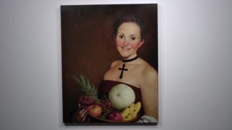 The Christian by John Currin