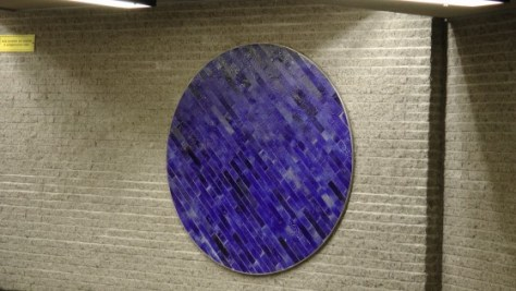 A tile circle