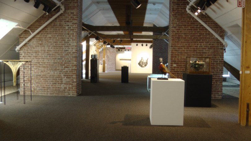 Installation view of Copier / Coller - Copy / Paste at Stewart Hall in Pointe Claire