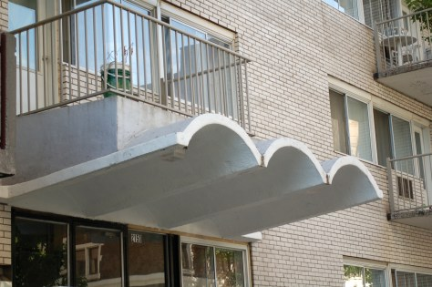 Cool Montreal Apartment Building Awnings