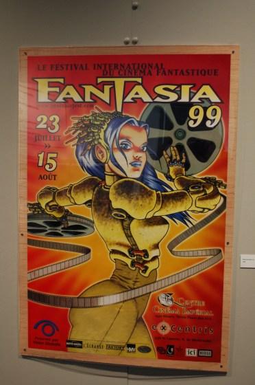 Fantasia Fest 1999 poster by Rupert Bottenberg