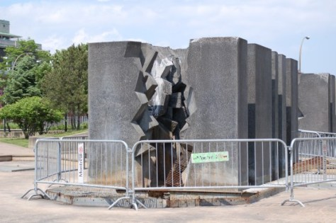 Forces, by Claude Théberge at Square Viger