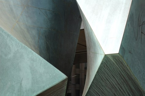Detail of Allégrocube by Charles Daudelin