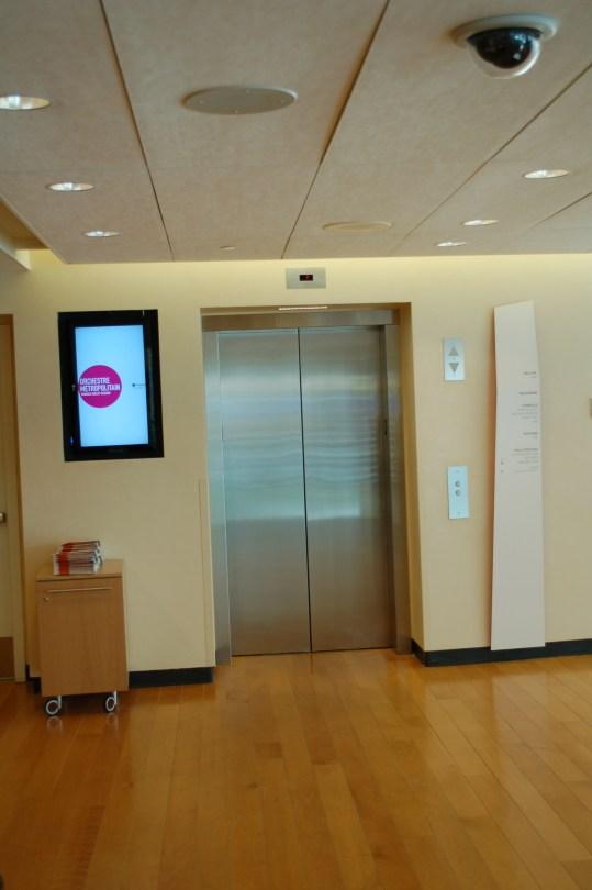 Elevators at the Adresse Symphonique