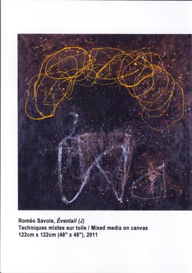 Roméo Savoie, Eventail (J) - image courtesy Sûreté du Québec
