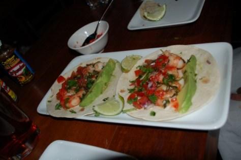 Camerones del diablo tacos from Restaurant Cartel