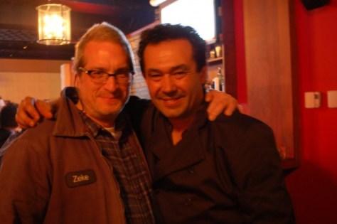Me and Federico Sanchez at Restaurant Cartel