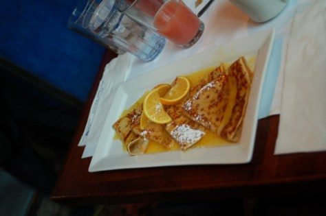 Crepe Suzette at Eggspectations