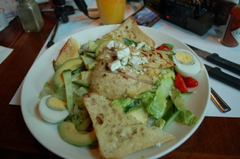 Hollywood Cobb Salad at Eggspectations