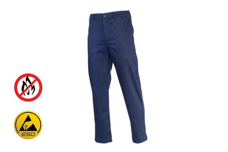 Spodnie spawalnicze do pasa Pan Spawalnik firmy Hetman