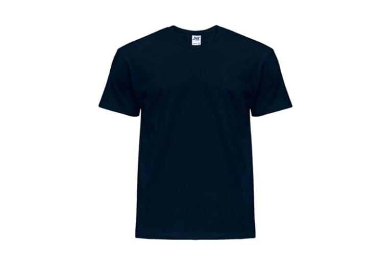 Granatowy T-shirt męskli JHK