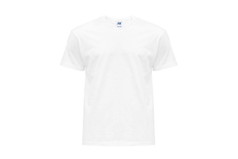 Koszulka T-shirt White JHK męska