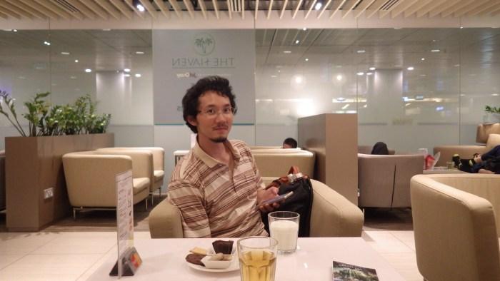 チャンギ空港ラウンジ