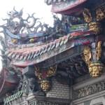 龍山寺の屋根