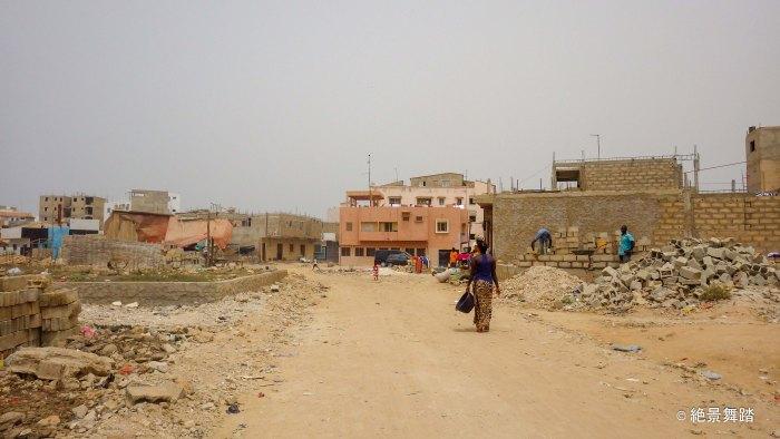 ンゴールバス停付近