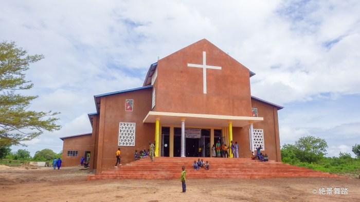 ティオ村の教会