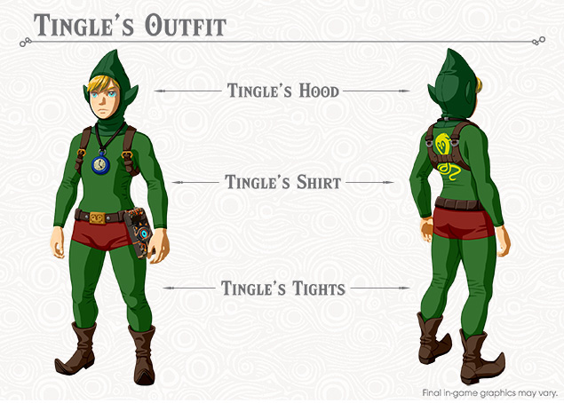 Tingle's Outfit
