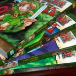 Front/back covers of the Legendary Edition of the Ocarina of Time manga revealed