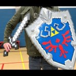 Maintain your Hearts with this Lego Hylian Shield