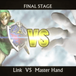 Fighting as Link against Master Hand in Smash Bros. is more intense in first-person