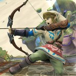 Link sports his Skyward Sword get-up in this Super Smash Bros. for Wii U screenshot