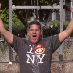 Reggie Fils-Aime and other Nintendo staff perform the ALS Ice Bucket Challenge