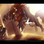 Fanart Friday: Link versus Ganon