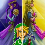 Fanart Friday: One Link, two worlds