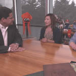 Reggie shares E3 memories with Kit and Krysta in the latest Nintendo Minute