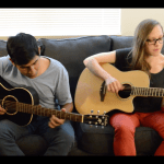 """Guitar-playing duo play an awesome acoustic cover of """"Outset Island"""""""