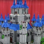 Fan builds Twilight Princess LEGO castle over the span of two and a half years